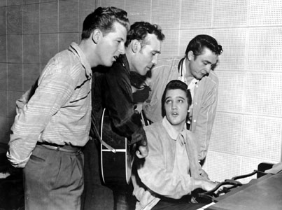 "Sun Record's ""Million Dollar Quartet"""